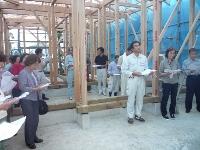 大磯教会保存改修工事・いよいよ始まる。